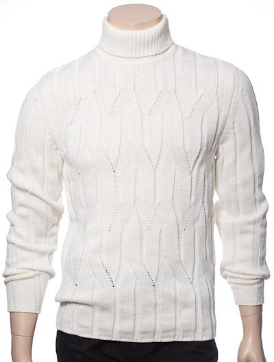 Купить Белый Джемпер Мужской